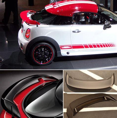 MINI Cooper Coupe or Speedster JCW R58   R59 Rear Spoiler   MINI Cooper Accessories   MINI