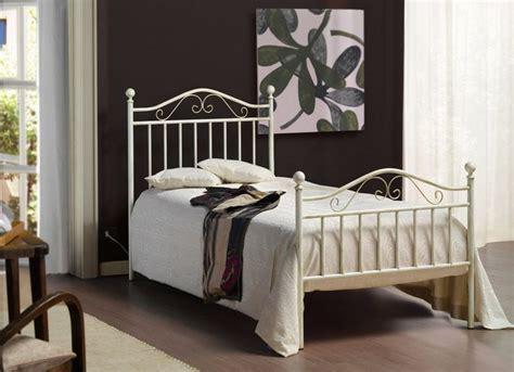letto singolo in ferro letto giusy singolo in ferro battuto di cosatto