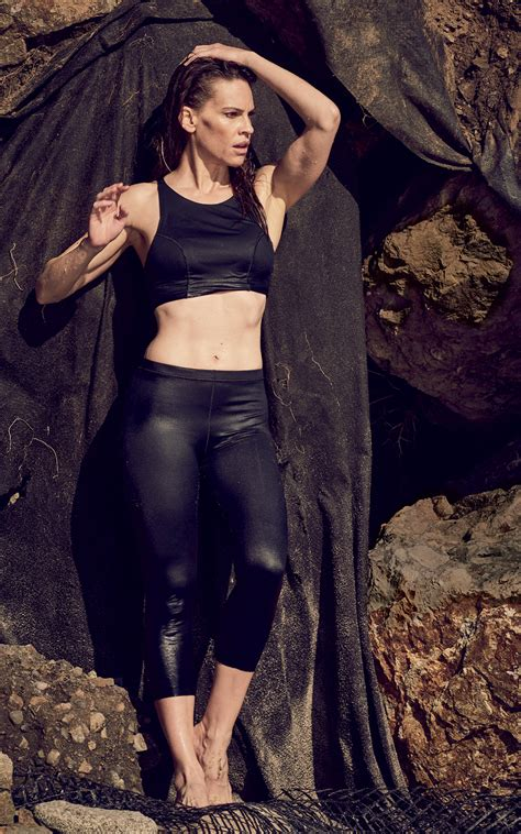 Hilary Runs Into Joel by How Hilary Swank Is Changing Athleisure With Mission Statement