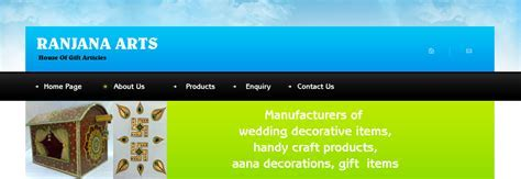 Manufacturers of wedding decorative Items, Handy Craft