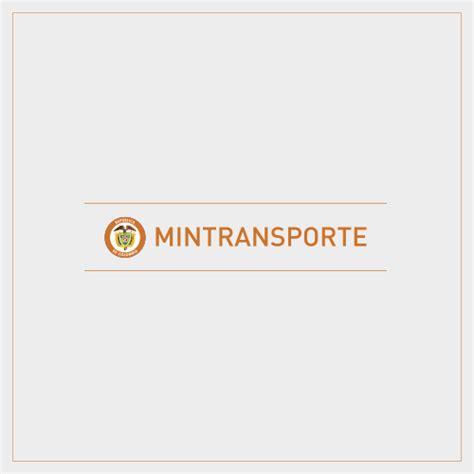 transporte del 2016 en colombia ministerio de transporte de colombia