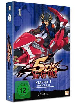 Yu Gi Oh Box 1 Yu Gi Oh 5d S Box 1 5 Dvds Anime Dvd World Of
