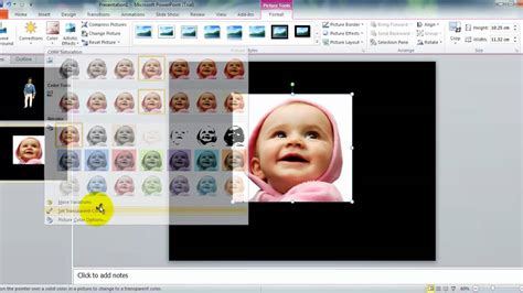 how to make a picture a background on powerpoint powerpoint how to make a transparent picture