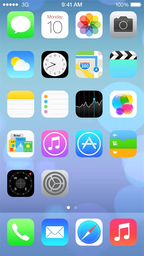 iphone change layout of icons image gallery icons ios 7 iphone apps