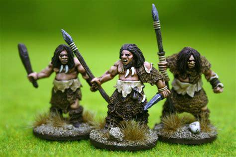 Lu Hid Eye mammoth hunt lucid eye neanderthals deezee mammoth set 28mm arcane scenery and models