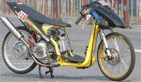 kumpulan gambar motor drag bike yamaha mio ken arok motorcycle
