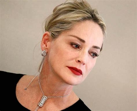sharon stone most recent hairstyle sharon stone recent most recent photos of sharon stone