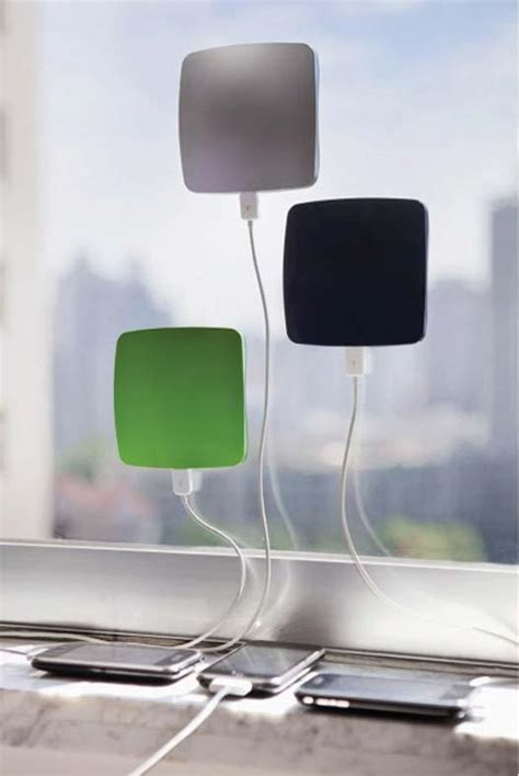 solar phone charger app window cling iphone solar charger