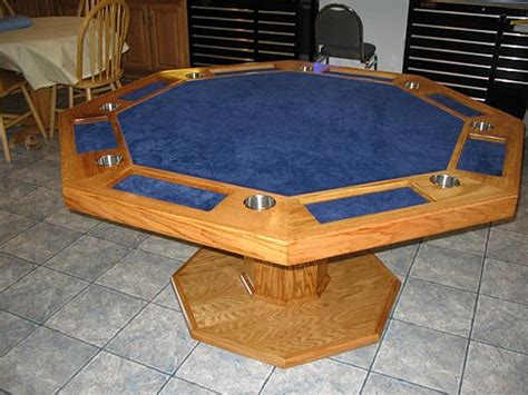 octagon poker table plans octagon poker table woodworking plans furnitureplans