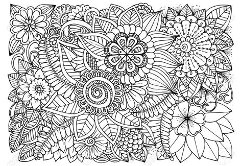draw a pattern using flower as motif flower drawing pattern at getdrawings com free for