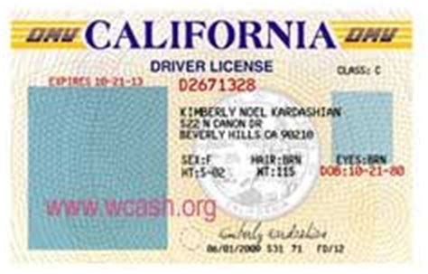 Template California Drivers License Editable Photoshop File Psd Driver License Templates State Id Templates Free