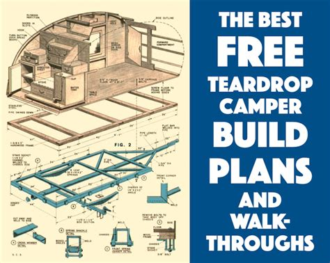 teardrop cer floor plans best free teardrop trailer cer plans and walk throughs