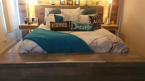 bedroom dazzling pallet beds  bedroom design ideas