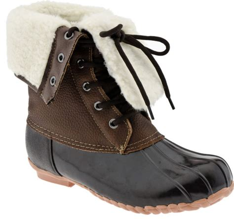 sporto shoes shoes sporto booties boots wellies brown leather boots fleece duck boots wheretoget
