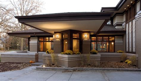 new style homes new prairie style home front cantilever modern exterior chicago by west studio