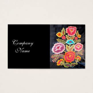 embroidery floss card template embroidery business cards templates zazzle