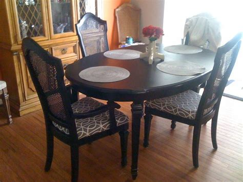 refinishing dining room table refinishing a dining room table furniture diy pinterest