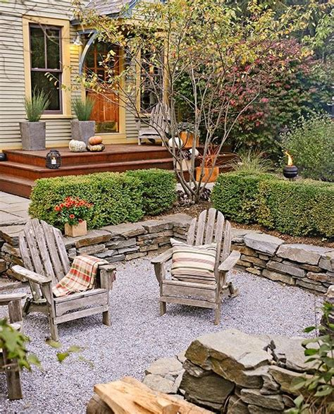 gravel patio designs best 25 pea gravel patio ideas on gravel