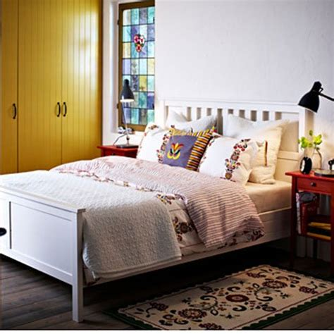 ikea hemnes queen bed frame white wood queen bed frames