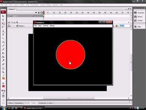 tutorial flash basico tutorial 01 basico como hacer un boton animado en flash