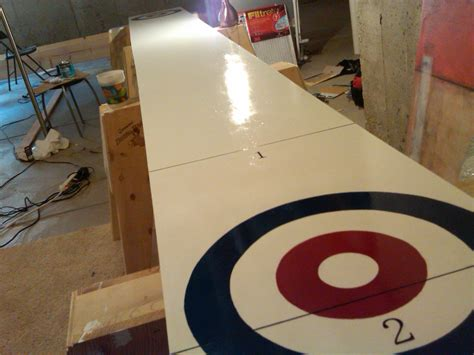 how to build a shuffleboard table diy shuffleboard plans