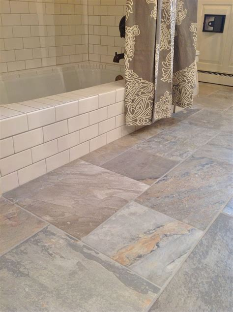farmhouse floors 30 ideas and pictures classic bathroom floor tile