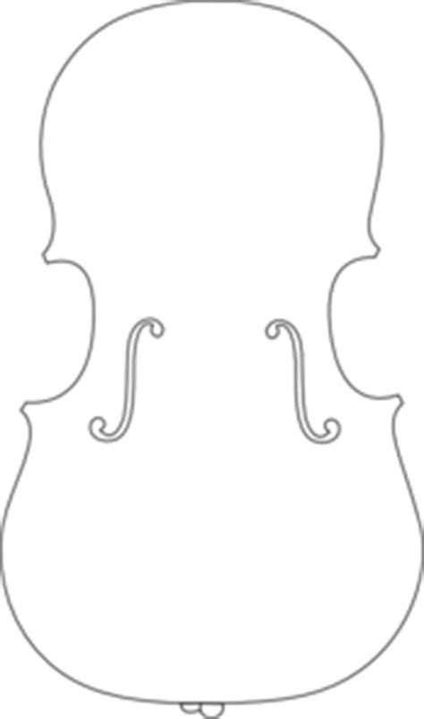 cello outline clip art ink pinterest cello clip art
