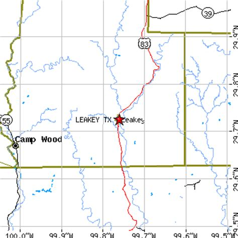 leakey texas map leakey texas tx population data races housing economy