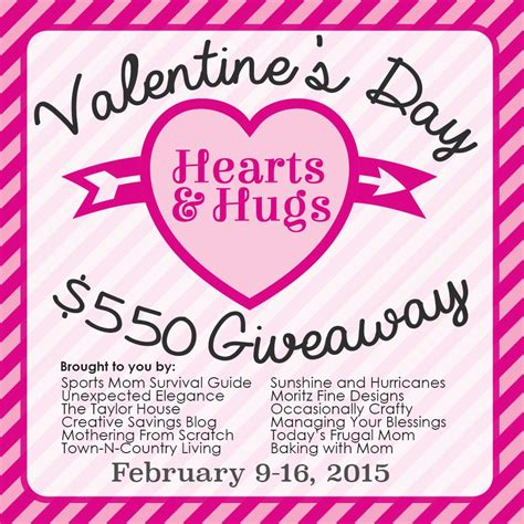 Valentine Giveaway - valentine s 550 giveaway sportsmomsurvivalguide com