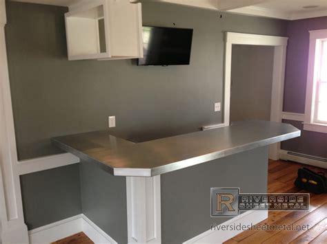 l shaped counter zinc bar top l shaped with 45 degree corner