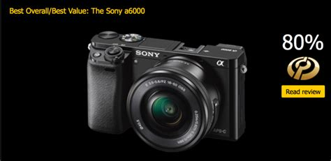 best compact with interchangeable lenses sony a6000 is best interchangeable lens 500 800