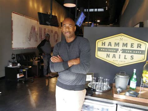 nail salon for guys hammer nails in california makes the hammer nails handles guys hands and feet with care