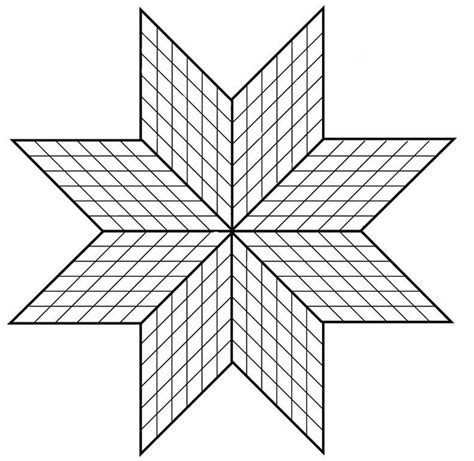 Star Quilt Native American Coloring Pages