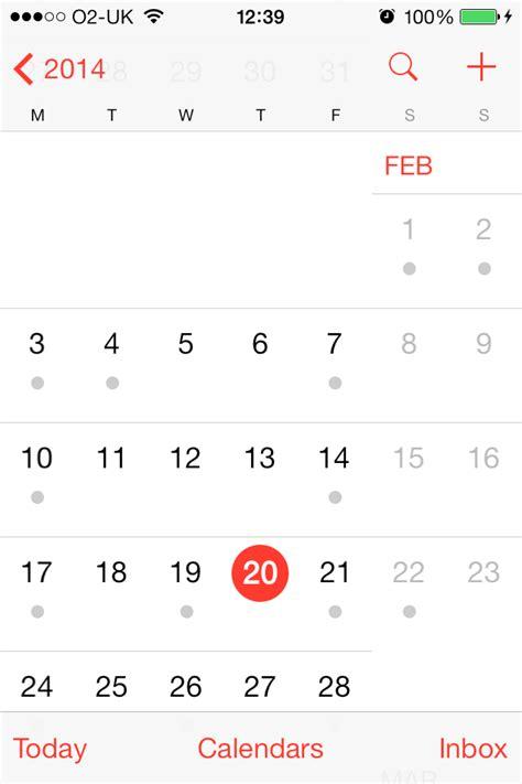 Calendar Update Ios Apple Ios 7 Review Macworld Uk
