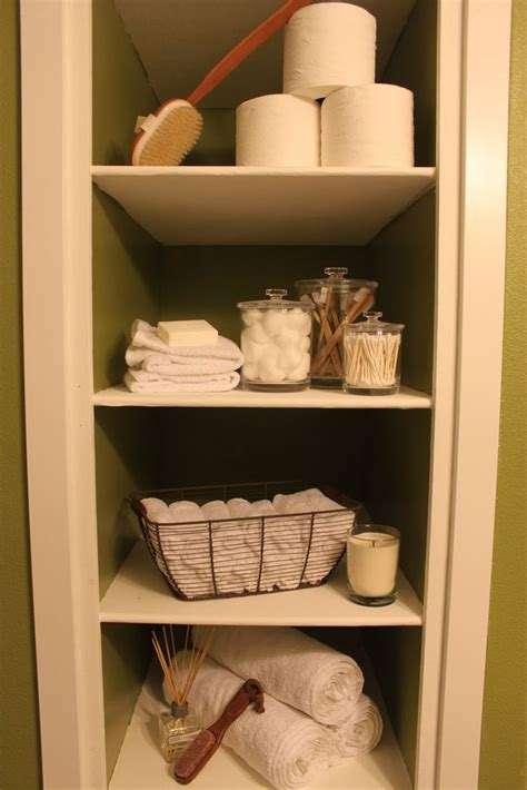 25 best ideas about decorating bathroom shelves on