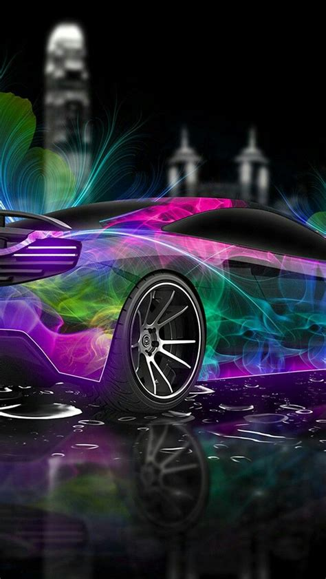 neon lights car wallpaper car wallpapers   cool