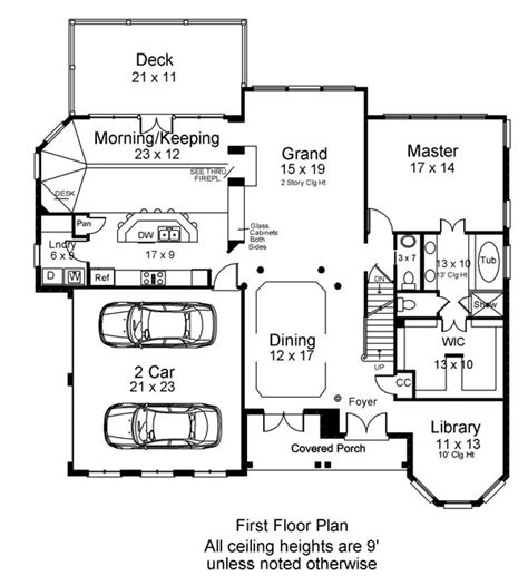 1st floor plan house loudon 6480 4 bedrooms and 3 baths the house designers