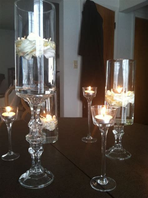 Diy Dollar Store Centerpiece Pics Included Weddingbee Dollar Store Wedding Centerpieces