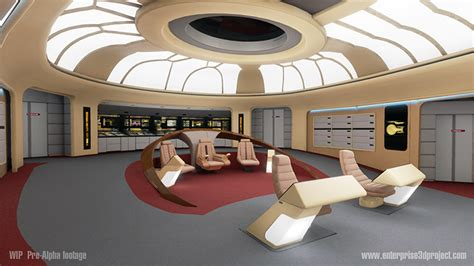 a virtual tour of the uss enterprise ncc 1701 d made in