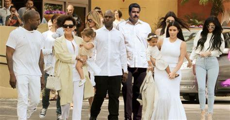 fotos de la familia kardashian 2015 maduro se une a familia kardashian para subir su