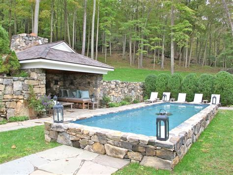 How Much Is A Backyard Pool by How Much Does A Semi Inground Pool Cost Swimming Pool