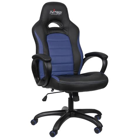 Gaming Chairs by Nitro Concepts C80 Series Gaming Chair Black Blue