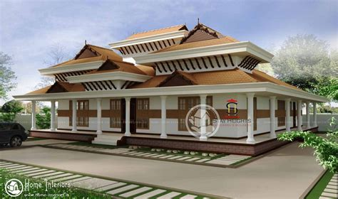 nalukettu house traditional nalukettu double floor kerala home design