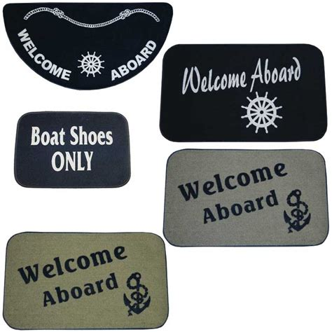 Welcome Aboard Mat by Made Welcome Aboard Standard Boarding Mats West Marine