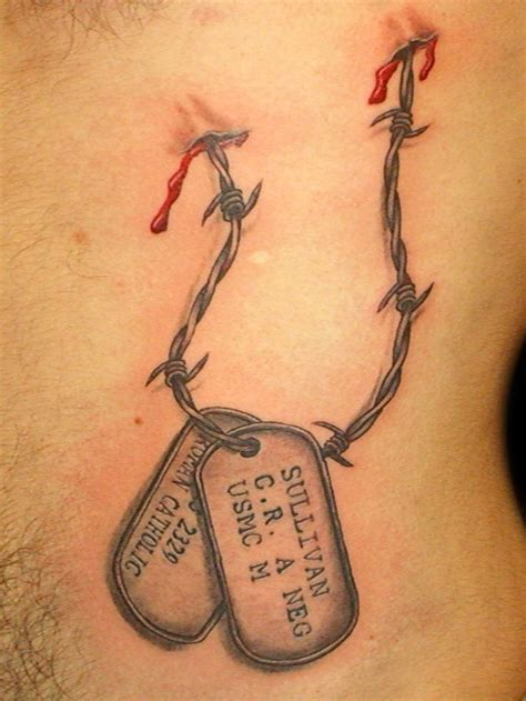 dog tag tattoos 25 best ideas about tags on