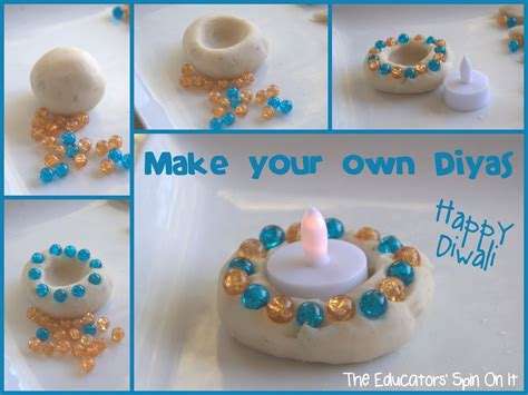 diwali crafts for to make make your own diyas for diwali the educators spin on it