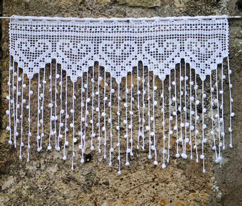 Modele Gratuit Rideau Crochet Filet