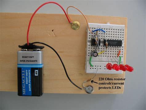 resistor counter hila 4520 binary counter