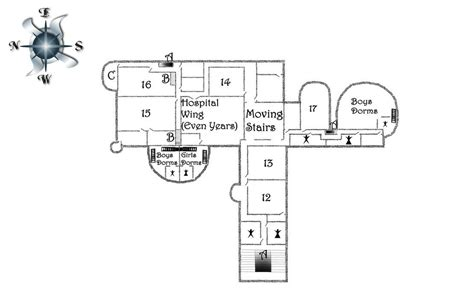 hp on floor plan hp hogwarts first floor by regasssatheorized floor plan