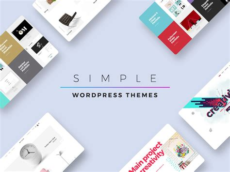 simple wordpress themes for september 2017 wp daddy